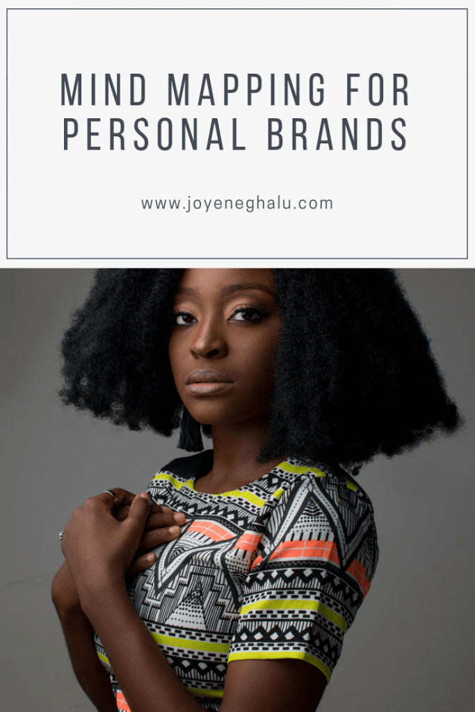 Mind Mapping for Personal Brands- Pinterest - Joy Eneghalu