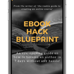 Ebook Hack Blurprint Mockup